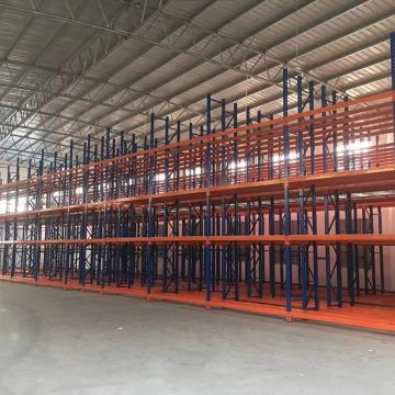 Assembled light duty warehouse stacking rack shelving rack